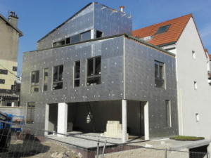 le panneau powerwall de recticel insulation le blog du b timent. Black Bedroom Furniture Sets. Home Design Ideas