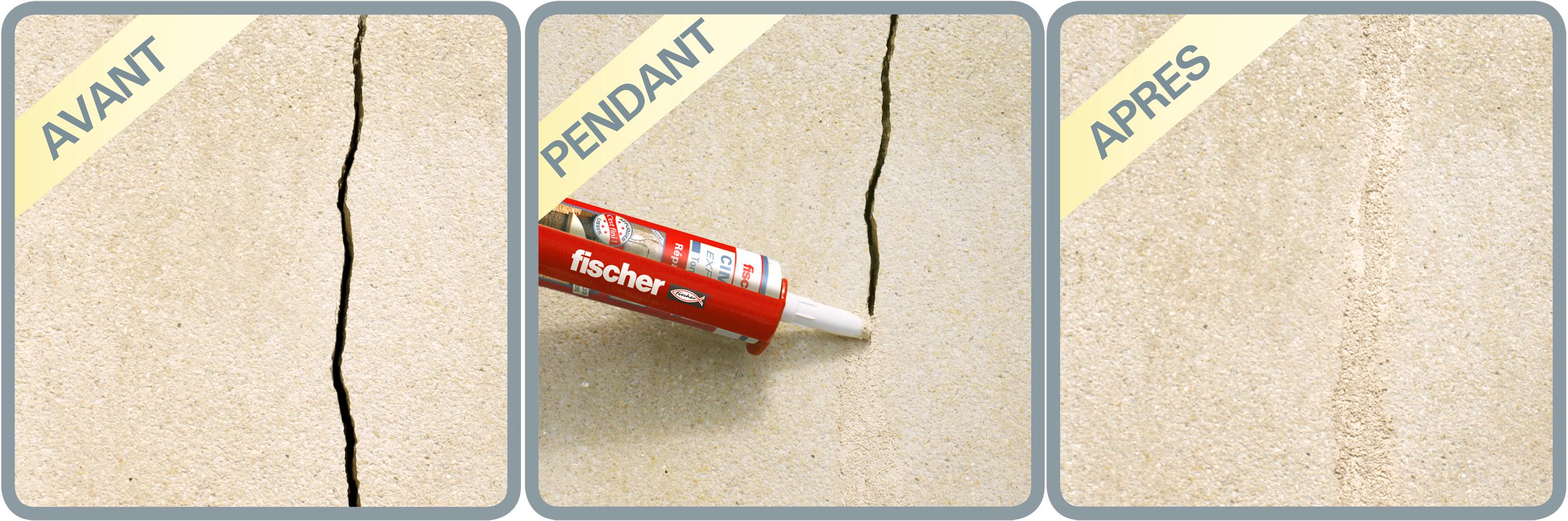 9699 fischer ciment expresstonpierre situ3 for Peinture appui de fenetre ton pierre