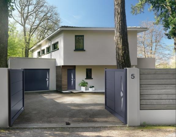 Nouveaux produits b timent porte de garage laterale for Porte de garage vendome